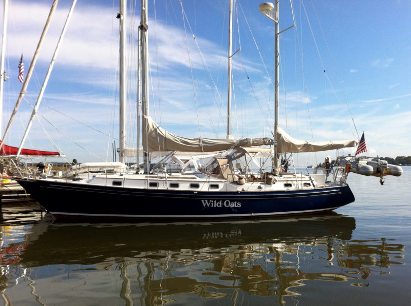 Whitby Brewer Sailboats - Southwinds Magazine: The Whitby 42