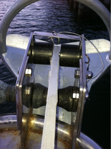 Anchor with the U shaped spacer